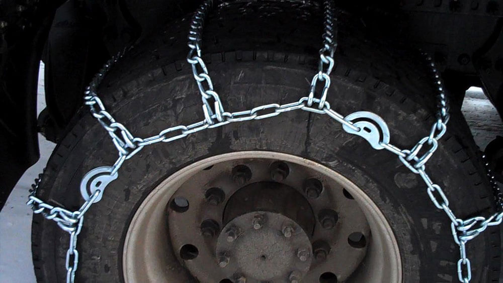 Winter Truck Tire Chains