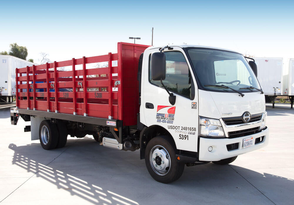 Stake Bed Truck Rental