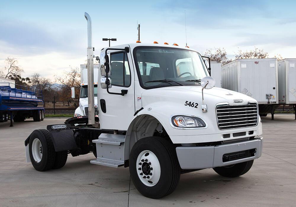 Single Axle Semi Tractors : Tractor single axle suppose u drive truck rental leasing