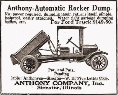 Anthony Automatic Rocker Dump