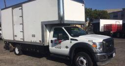 Box Truck Ford F-550 17'