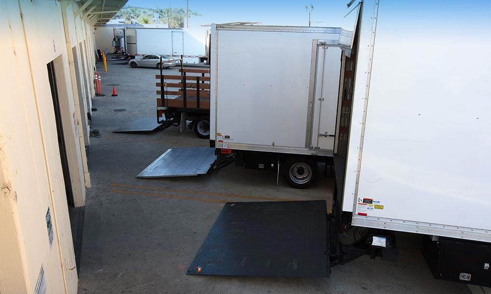 Liftgates in a Row: Suppose U Drive