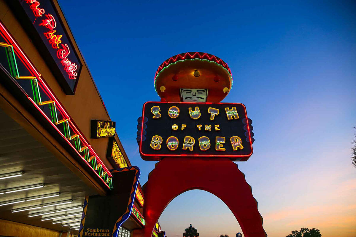 South of the Border Truck Stop