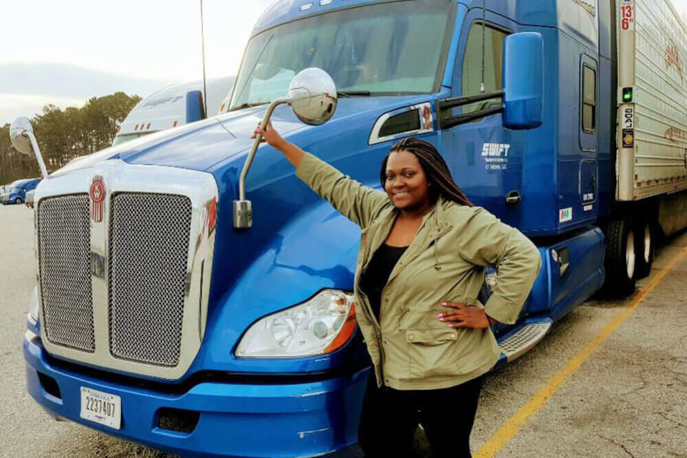 Cania Eubank - Women and the Trucking Industry: Suppose U Drive