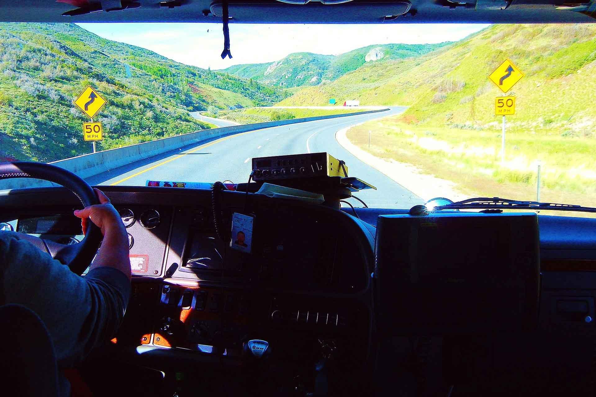 Coolest Summer Job: Truck Driving – Cockpit
