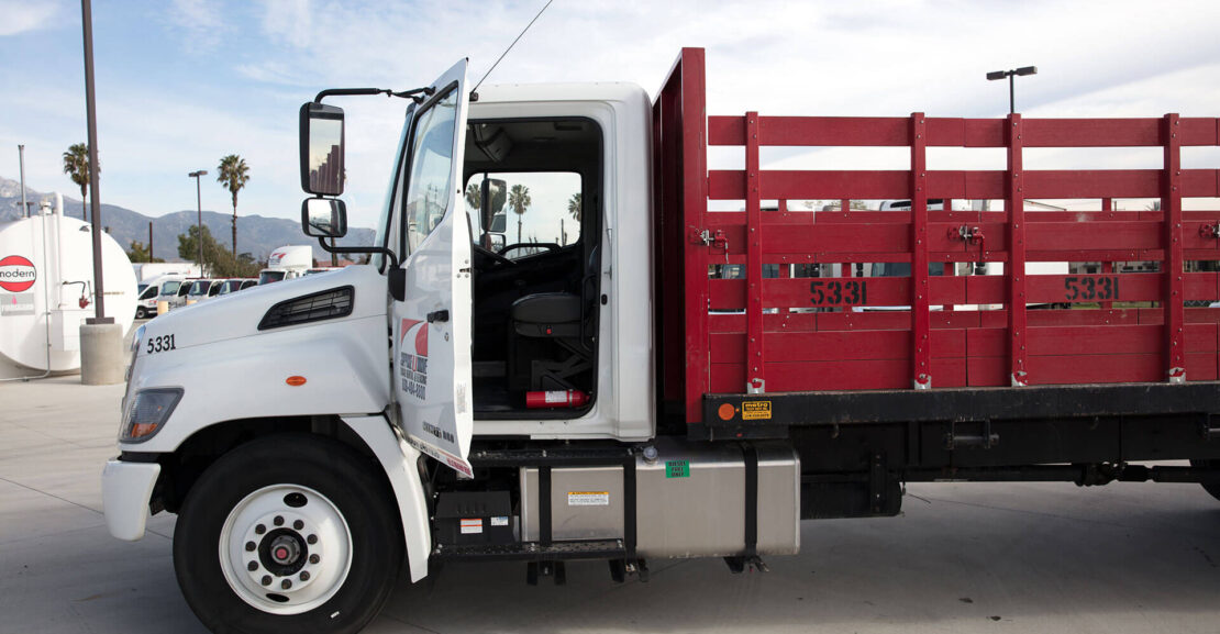 Stake Bed Truck With Liftgate Rental