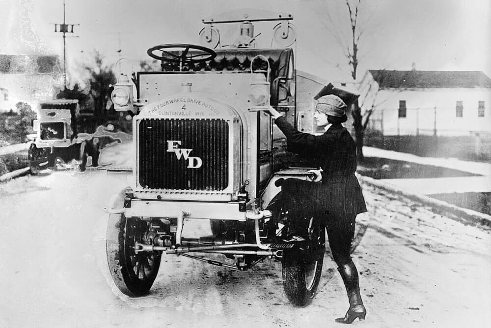 Leulla Bates - Women in the Trucking Industry: Suppose U Drive