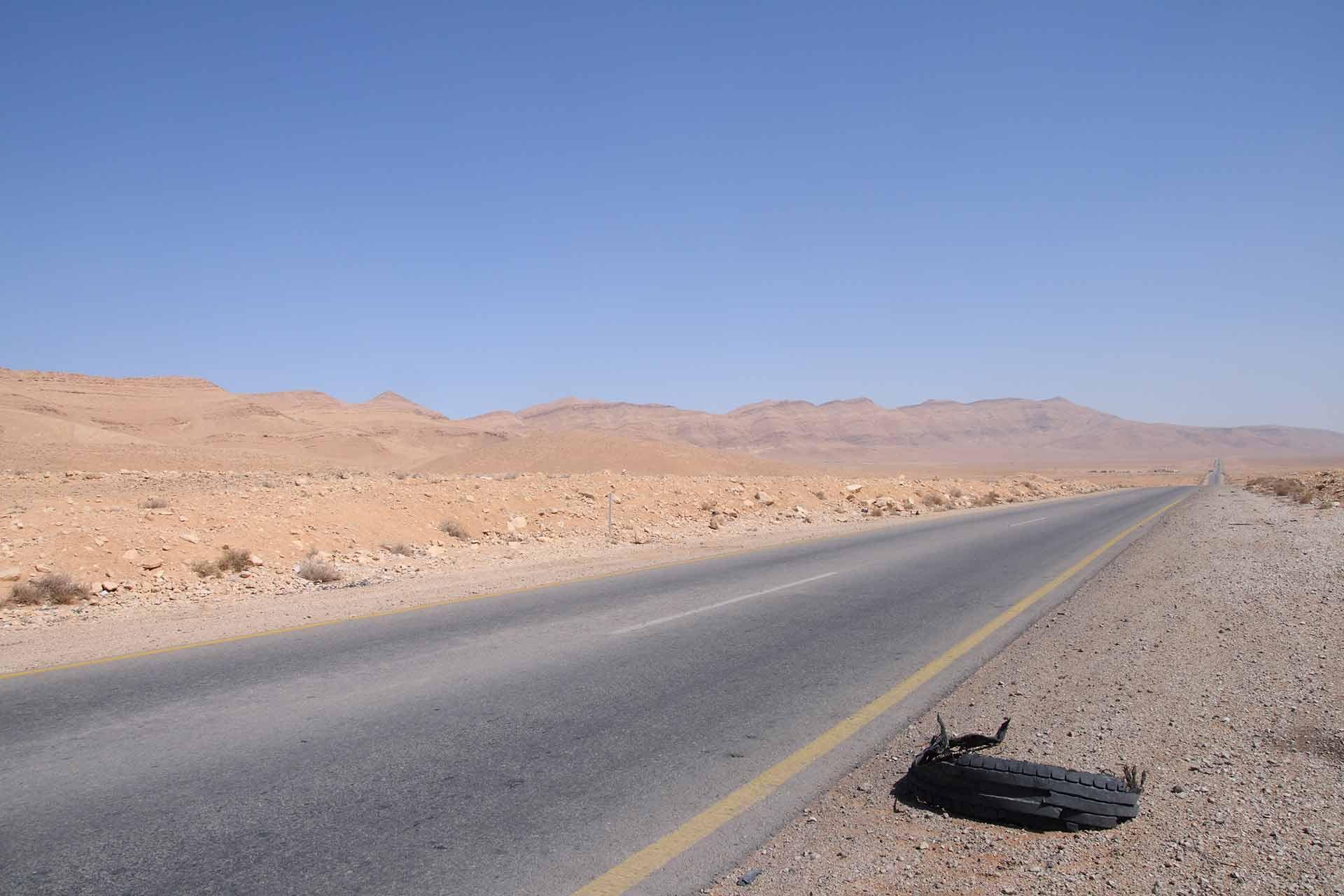 Summer Truck Maintenance: Desrt Road