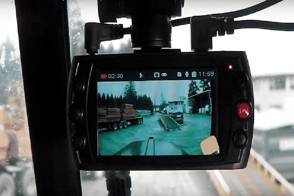 Summer Truck Maintenance: Security Dash Camera