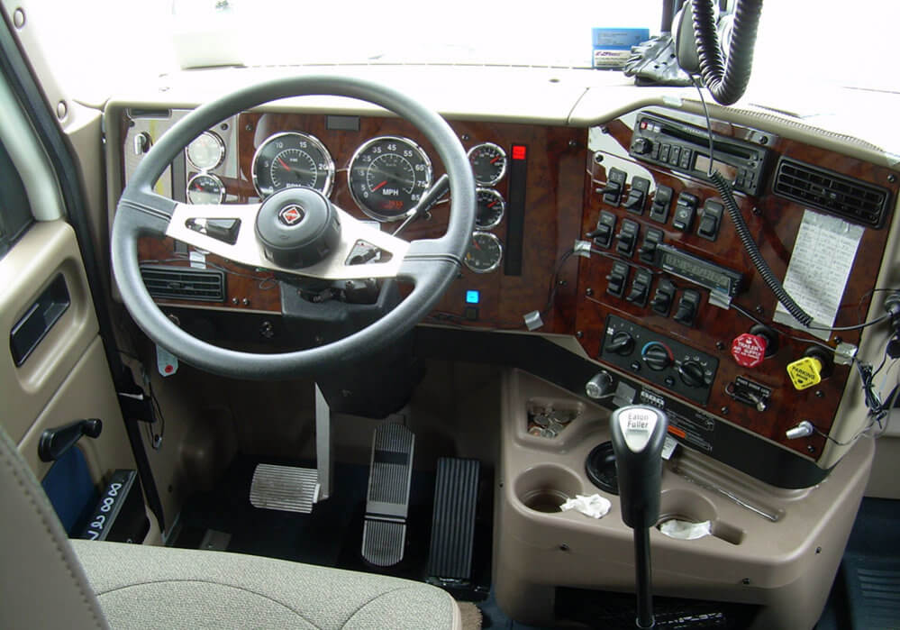 Trucker Cab Driver Seat: SupposeUDrive