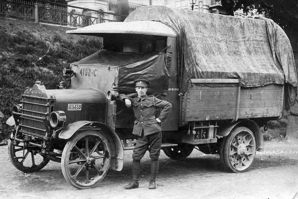 Trucking History: Suppose U Drive – World War 1
