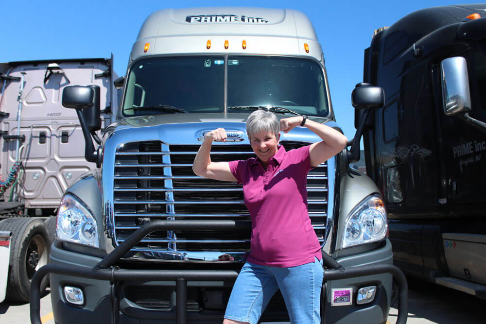 Women and the Trucking Industry: Suppose U Drive